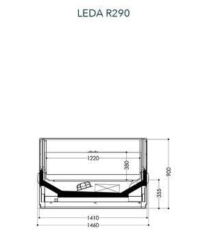 Dessin technique de Leda R290