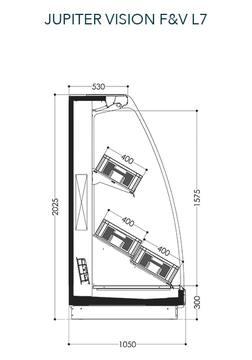 Dessin technique de Jupiter Vision F&V L7