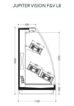 Dessin technique de Jupiter Vision F&V L8
