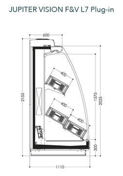 Dessin technique de Jupiter Vision F&V L7 Plug-in