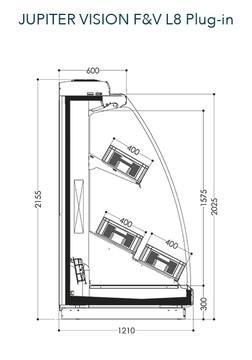 Dessin technique de Jupiter Vision F&V L8 Plug-in