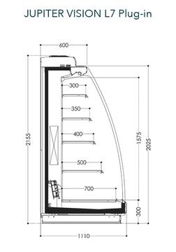 Dessin technique de Jupiter Vision L7 Plug-in